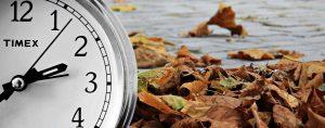 horario tiempo otoño cambio